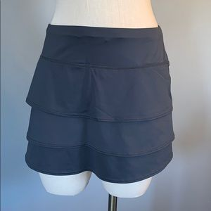 Grey Athleta gray tennis skort small